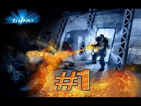 Прохождение The Thing #1 [И мы начинаем..]