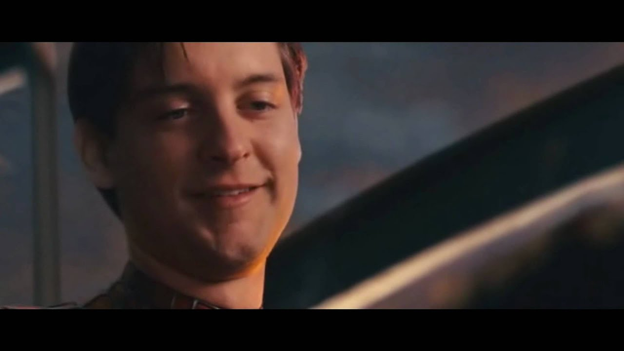 Peter parker cry