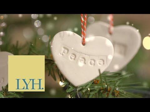 Cookie Cutter Clay Ornaments | Homemade Christmas S1E2/8