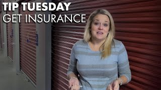 Tip Tuesday- Get Insurance