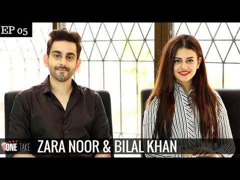 Bilal Khan & Zara Noor talk about Infamous Plane Flights & Khamoshi | Episode 5  | One Take