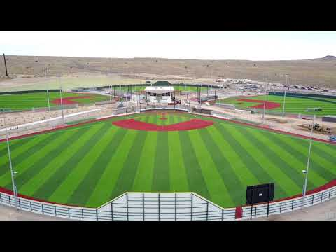 Drone footage of the new Albuquerque Regional Sports Complex in Albuquerque!!