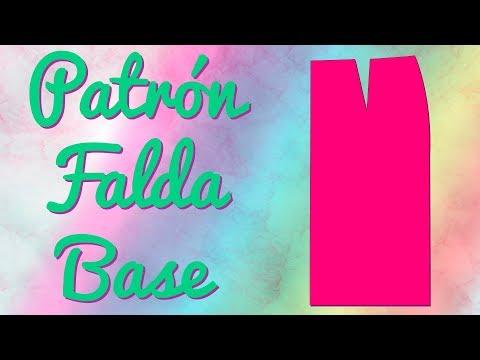 Cómo hacer el Patrón de la Falda Base