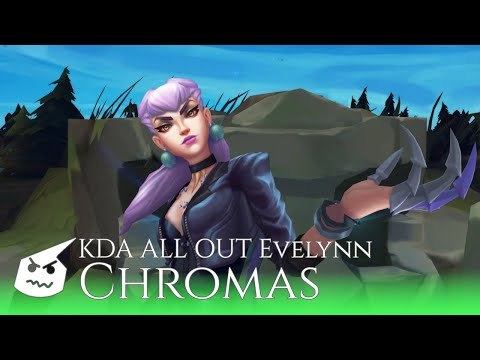 KDA ALL OUT Evelynn.chromas