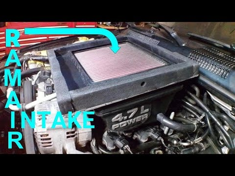 Ram Air Intake for 99-04 Jeep Grand Cherokee 4.7