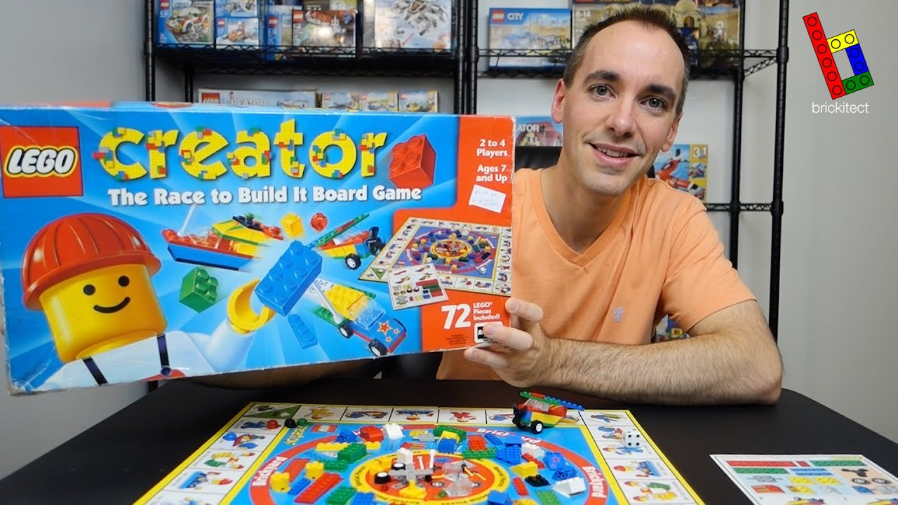 Lego Creator Race To Build It Board Game Review Lego Yard Sale Find