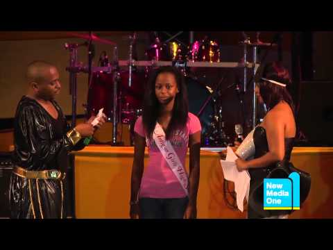 Antigua Carnival 2012 - Teen Splash - Interview - Janelle Brookes, Antigua Girls High School