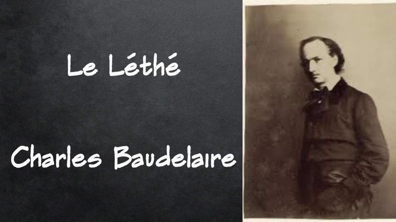 le lethe baudelaire analyse