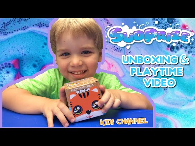 SUDPRIZE BATH BOMB PLAYTIME VIDEO! With Other Water Fun! Fizzy Fun & Grow Capsules