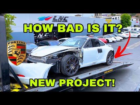 REBUILDING A SALVAGE 911 PORSCHE CARRERA 4S (PART 1)