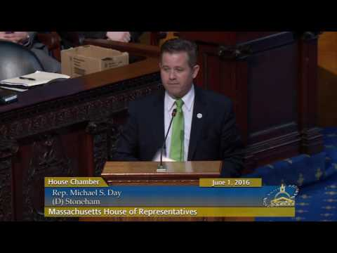 Michael Day Maiden Speech in MA House of Representatives