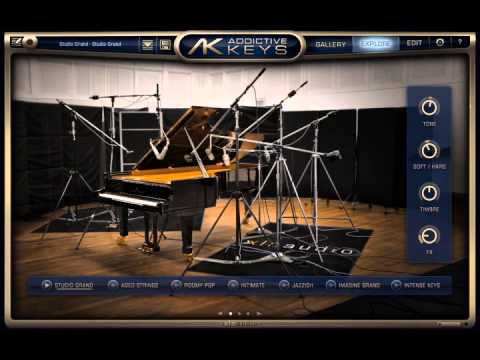Relax Piano [XLN Audio : Addictive Keys]  [Studio Grand]