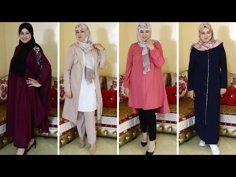 fe46b38fe Download ارقي واجمل موديلات الملابس التركية للمحجبات لصيف2018 2019 ...