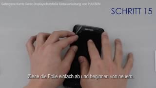 Bedienungsanleitung für Pulesen Galaxy S7 Edge Schutzfolie