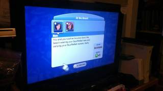 The sims 3 Wii multiplayer gameplay
