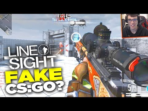 FAKE CS:GO? Line of Sight Gameplay Revisited