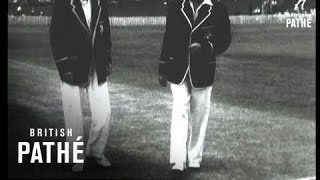 Brisbane - First Test Report AKA Australia Wins The First Test Match Cuts (1954)