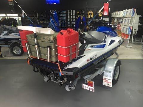 Jet Ski Fishing Rack Installation