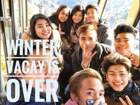 This is how we spent our first day of winter vacation Japan Vlog 17