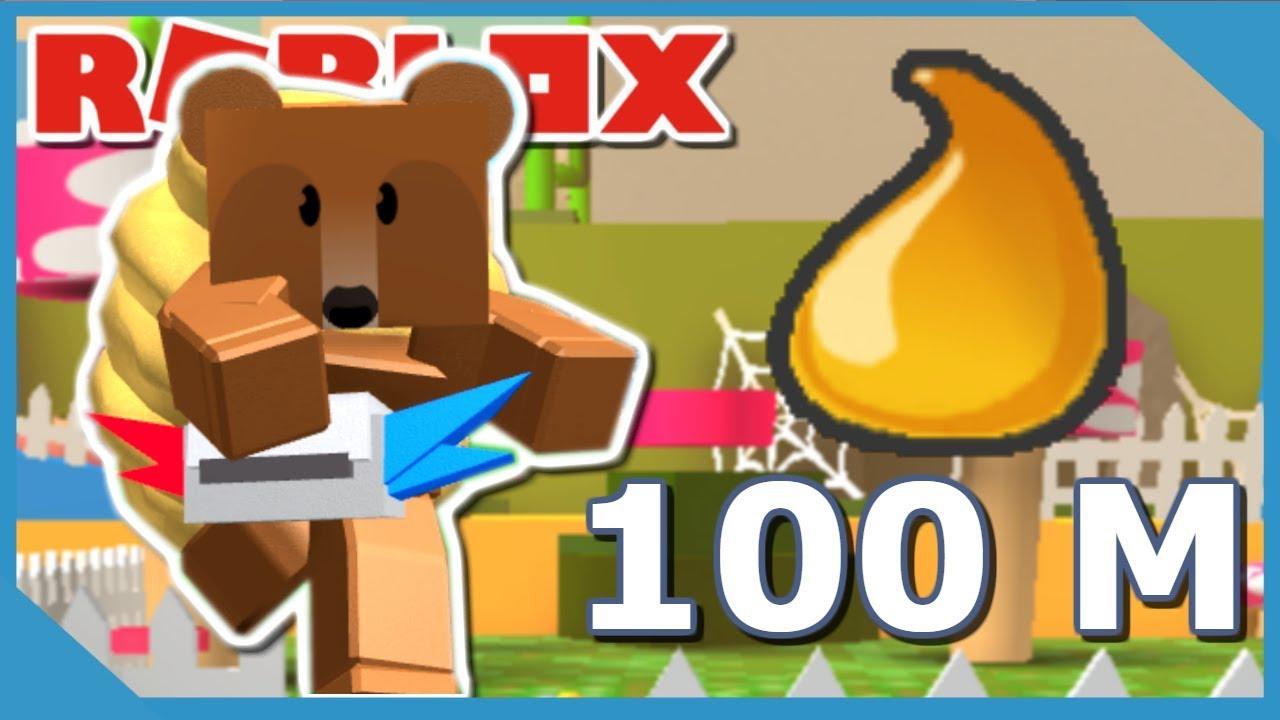 Getting 100 000 000 Honey In Roblox Bee Swarm Simulator Youtube