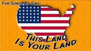 This Land Is Your Land | patriotic song for children