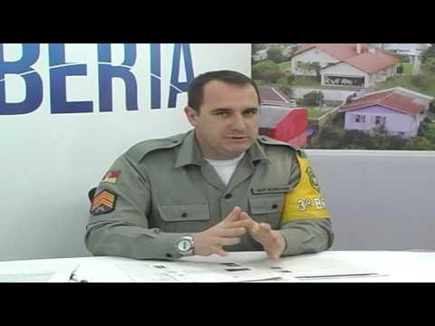 TV Cidade recebeu o comandante do Policiamento Rodoviário de Farroupilha o Sarg Schiavon - 2