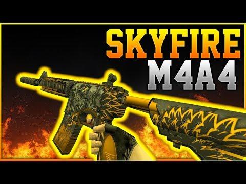 • M4A4 SKYFIRE • Counter Strike 1.6