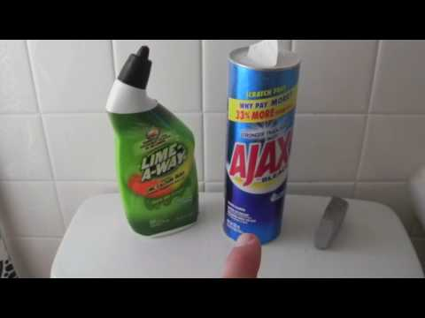 NASTY TOUGH Stains! Clean Toilet  for ONLY $2 - NO SCRUBBING! DIY