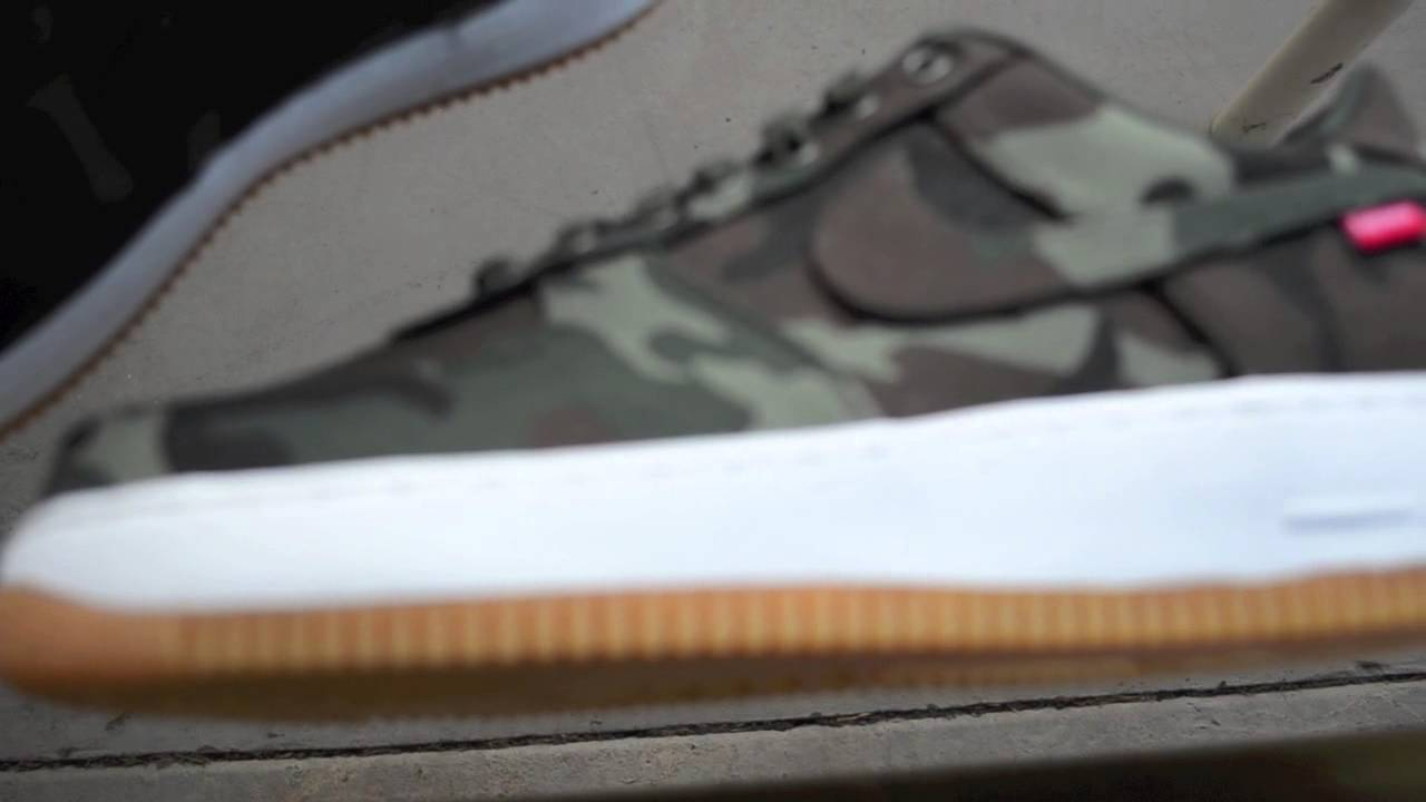 the latest 17f63 f8694 Supreme x Air Force 1 Camo Review! - YouTube