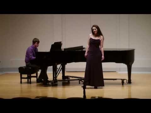 George Gershwin - I've got a Crush on You - Audrey Escots, Soprano.