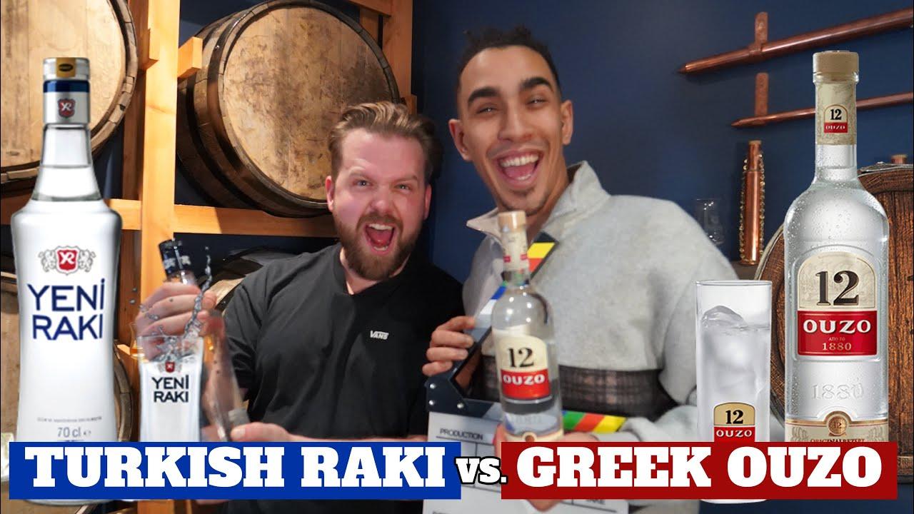 Download BRITISH LADS TRY TURKISH RAKI VS GREEK OUZO