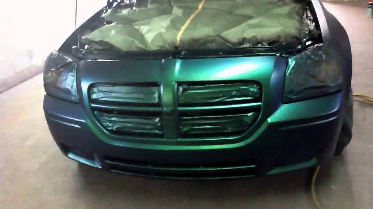 Green car paint colors - Candy Car Paint Colors Outrageous Emerald Green Dodge Magnum No Clear Youtube