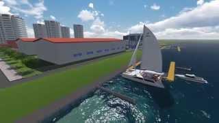 Яхт клуб Тихая Гавань ЮГ(С открытием очередного сезона навигации в 2016 году на территории микрорайона «ЮГ», в партнерстве с компание..., 2015-10-19T12:04:35.000Z)