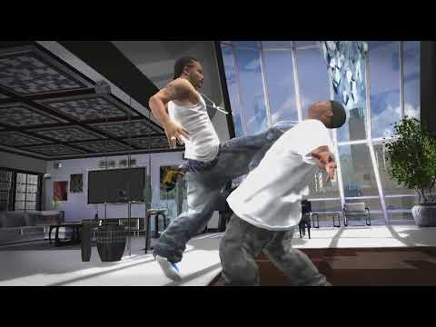 Def Jam Icon - Ludacris vs Mike Jones Gameplay [720p] [60fps]
