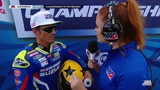 Toni Elias Interview EBC Brakes Superbike Race 1 at The MotoAmerica Championship of Pittsburgh 19