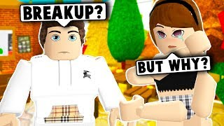 WE BROKE UP BUT HE STARTED STALKING ME! (Roblox Bloxburg) Roblox Roleplay