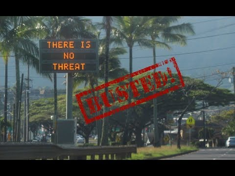 BREAKING: Hawaii Ballistic Missile Alert Employee Says They Purposely Hit Button! STORY CHANGES!