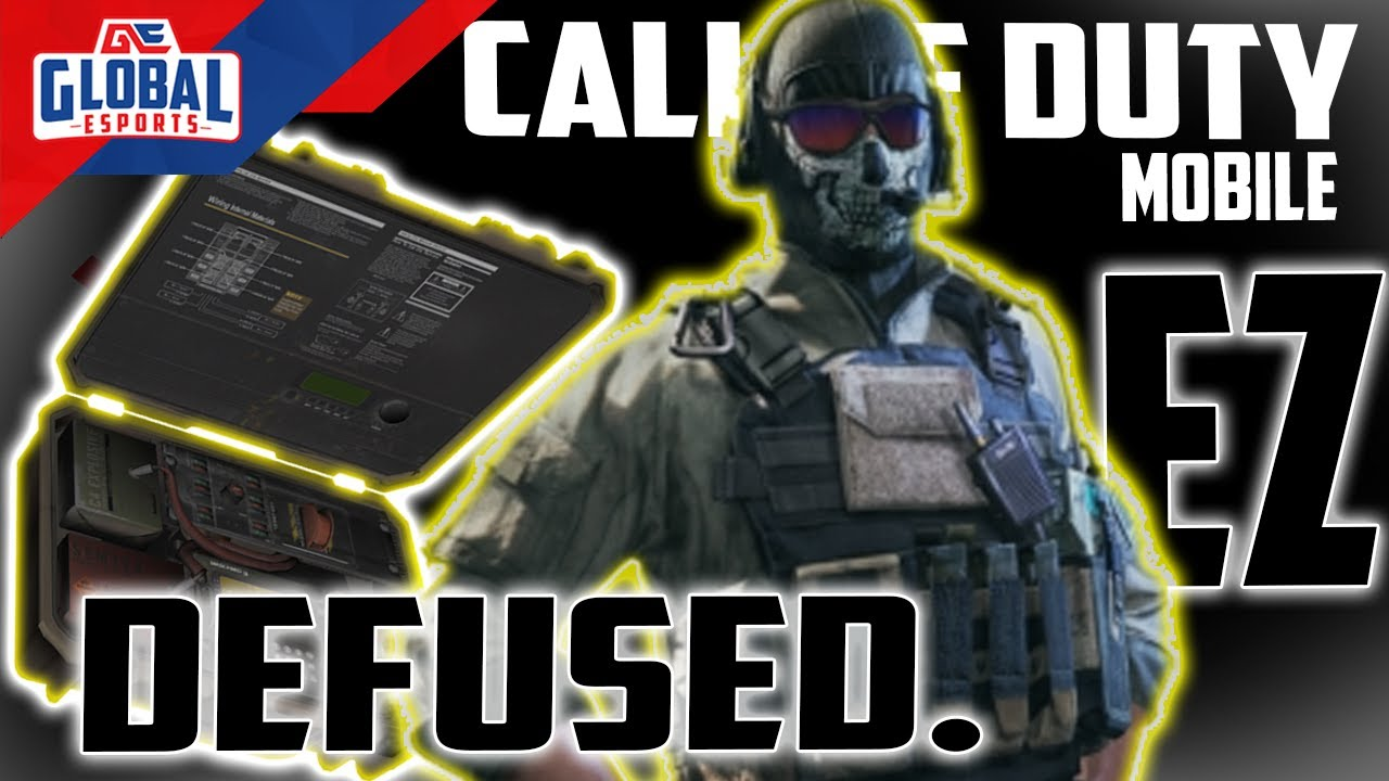 Last Second Defuse - Clutch Moments - Call of Duty Mobile Pro Gameplay