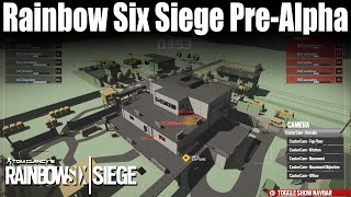 The Early Development Of Rainbow Six Siege