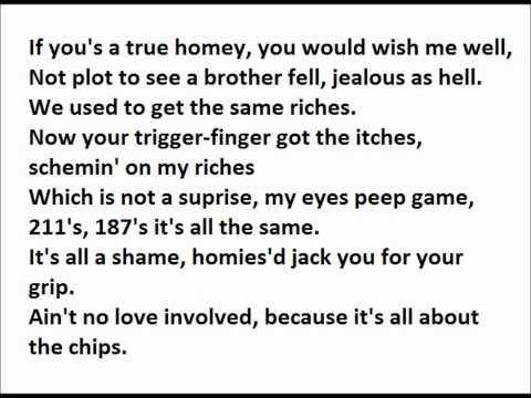 Warren G -What's love got to do with it (on screen lyrics)