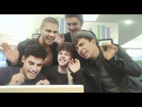 Big Top 40 Web Chat: The Wanted (Sunday 17th October)