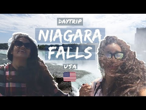 VLOG: Niagara US Side and a Stop for Buffalo wings