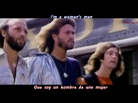 Bee Gees - Stayin' Alive [Lyrics y Subtitulos en Español] Video Official