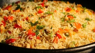 Chicken Fried Rice Recipe - Street Food in Hyderabad, Indian Street Food