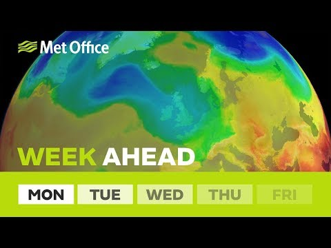 Week Ahead – Thunderstorms on the way? 23/04/19