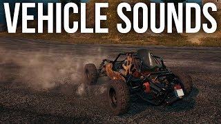 PUBG - NEW VEHICLE SOUNDS (Buggy, Dacia, UAZ, Bike, & Boat) *NEW NOVEMBER UPDATE*