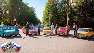 Modified Classic Resto Lada Cars 2101 2102 - Moscow Russia to Jamaica Special Feature