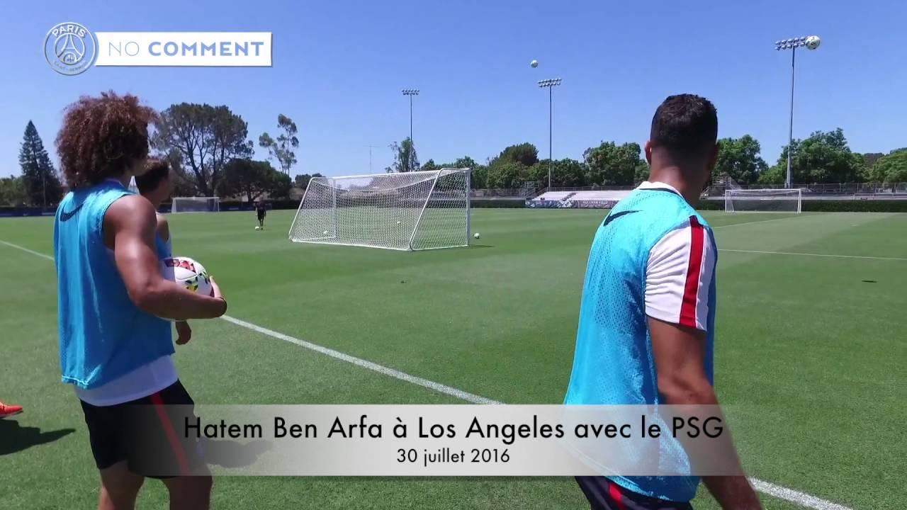 Hatem Ben Arfa marque un but de fou à l'entraînement - juillet 2016