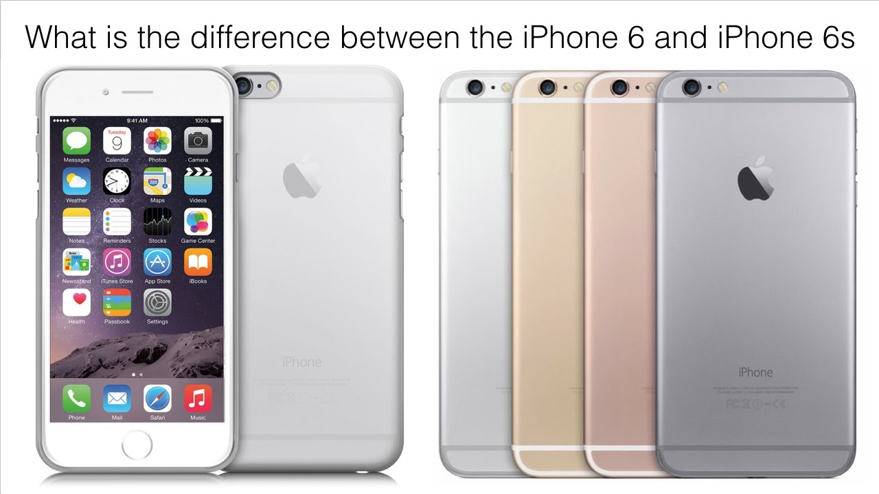 difference between iphone 5s and 6 what s the difference between iphone 6 and 6 plus iphone 18377