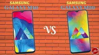SAMSUNG GALAXY M20 VS GALAXY M10: M SERIES PHONES COMPARED